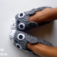 Totoro home slippers My neighbor totoro Women size 5 to 10.5