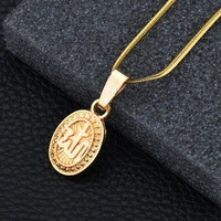 New Arrival Shiny Jewelry Stylish Gift Alloy Necklace [10768847491]