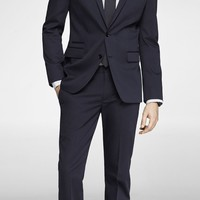 NAVY COTTON SATEEN PHOTOGRAPHER SUIT