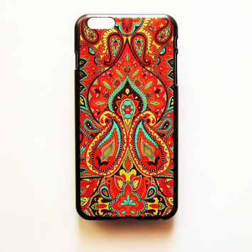 iPhone 6 Case Cover Tribal Pattern iPhone 6 Hard Case Geometric Hindu Back Cover For iPhone 6 Slim Design Case Henna