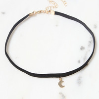 LA Hearts Moon Choker at PacSun.com