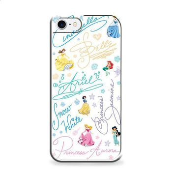 Disney Princess Sign iPhone 7 | iPhone 7 Plus case