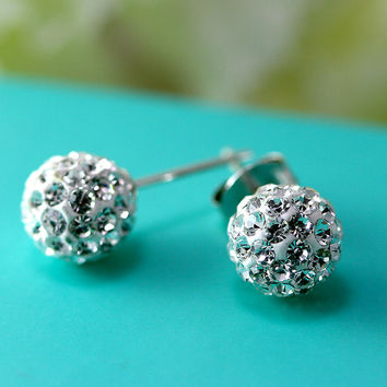 Crystal Earrings,Crystal Stud,stud earrings,Swarovski Stud,Diamond Earrings,Diamond Stud,Trending,Birthday gifts