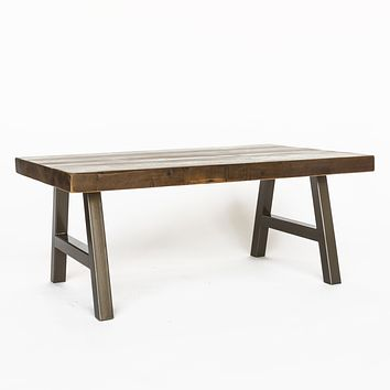 Rustic Modern Architect Coffee Table