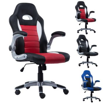 New PU Leather Executive Racing Style Bucket Seat Chair 2016 Office Desk Chair CB10070