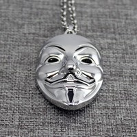 Shiny Jewelry Gift Stylish New Arrival Hip-hop Alloy Necklace [10737329091]