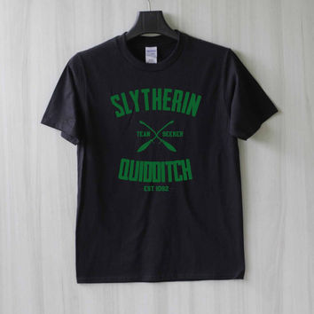 Slytherin Quidditch Harry Potter Shirt T Shirt Tee Top TShirt – Size XS S M L XL