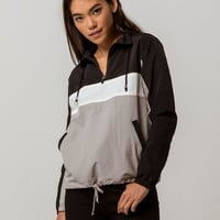 FULL TILT Color Block Womens Coach Jacket