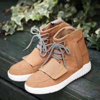 On Sale Casual Stylish Comfort Hot Deal Hot Sale High-top Shoes Thick Crust Height Increase Men's Shoes Sneakers [9445663047]