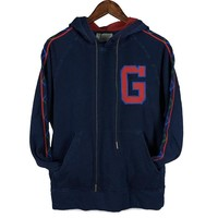 GUCCI New fashion bust embroidery letter and back embroidery butterfly couple hooded jacket coat