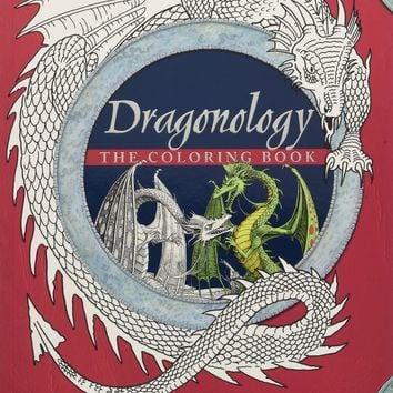 Dragonology Coloring Book Ologies CLR CSM