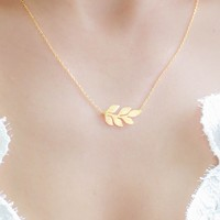 Wildwood Necklace - Gold