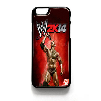 Wwe2K14 The Rock Gameplay iPhone 4 4S 5 5S 5C 6 6 Plus , iPod 4 5  , Samsung Galaxy S3 S4 S5 Note 3 Note 4 , and HTC One X M7 M8 Case