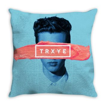 troye sivan trxye Throw Pillow
