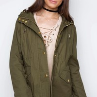 Mercer Jacket in Olive