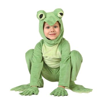 Kids Frog Costume Frog Prince Animal Onesuits Jumpsuit For Children Fancy Dress Animal Costumes Carnival Halloween Party Dress