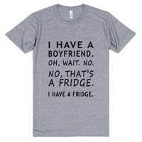Boyfriend Fridge Anti Valentine's Day Shirt
