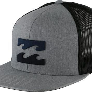 Billabong All Day Trucker Hat - grey heather - Men's Clothing > Hats & Beanies > Hats > Trucker Hats
