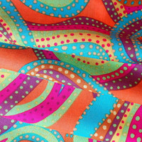 Brandon Mably for Rowan Dancing Paisley Pastel HALF YARD (45cm)