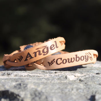 Her Cowboy, His Angel Bracelets