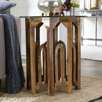 Moroccan End Table Base