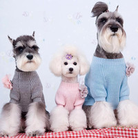 Loose Fitting Sweater for Adorable Dog Fashion & Online Pet Clothes Store SIZE 2-Color Pink