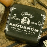 Laudanum Shaving Soap by scodioli on Etsy