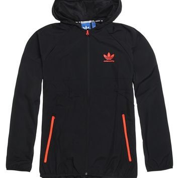 Adidas ADV Packable Wind Jacket - Mens Jacket - Black