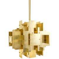 Jonathan Adler Puzzle Chandelier