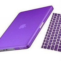 UHURU CASE 2 in 1 Bundle - Dark Purple rubberized/satin Case