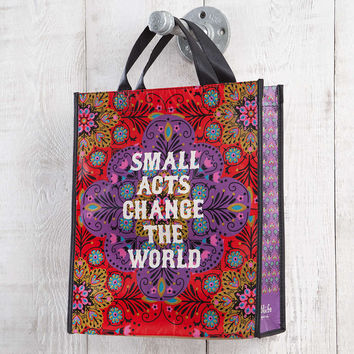 Small Acts Medium Recycled Gift Bag By Natural Life