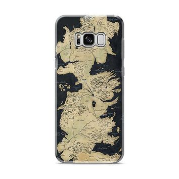 Westeros Map Samsung Galaxy S8 | Galaxy S8 Plus Case