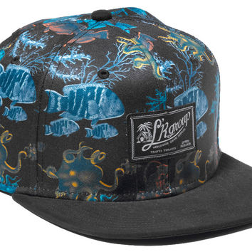 LRG Underwater High 5 Snap Back