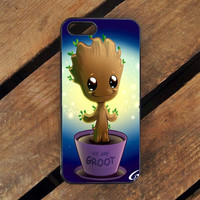 Guardian Of The Galaxy Baby Groot Dancing iPhone 4S Case Sintawaty.com