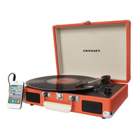 CROSLEY Cruiser Portable Turntable | Speakers