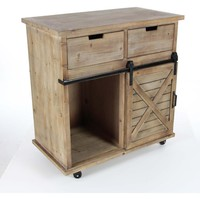 Appealing Wooden Storage Cabinet
