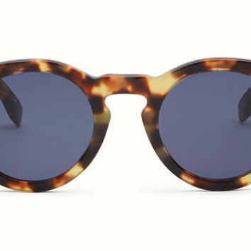 Fendi - Fendi Sun Fun 0214/S Light Havana Round Sunglasses