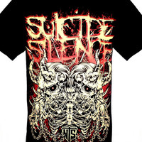 Suicide Silence RIP Rock Band Music Heavy Metal T Shirt Sirts Available in Size M L Brand New With Tags
