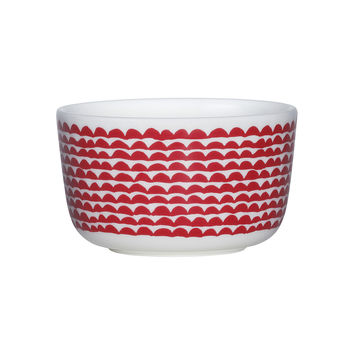 PAPAJO BOWL RED/WHITE 2.5 DL