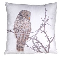 Tawny Owl Cushion Cover | Cushion Cover Pack | Animal Print Cushion Cover