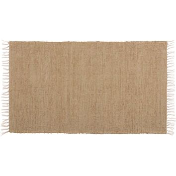 Burlap Natural Chindi/Rag Rug 27x48