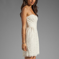 Shoshanna Nicolette Dress in Ivory from REVOLVEclothing.com