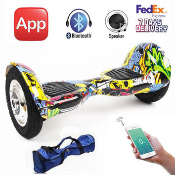 10 inch Two Wheeled Self/Smart Balancing Hoverboard