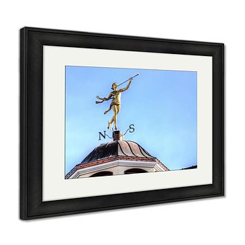 Framed Print, The Weather Vane