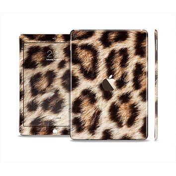 The Leopard Furry Animal Hide Skin Set for the Apple iPad Air 2