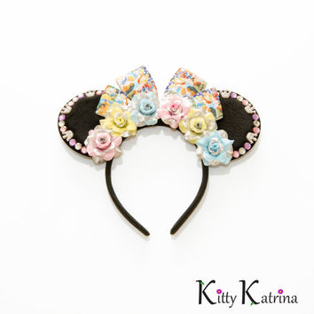 Princess Disney Ears Headband, Princess Mouse Ears, Disney Princess Ears, Disney Headband, Disney Bound, Cinderella's Royal Table