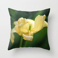 Opening Night Throw Pillow by Theresa Campbell D'August Art