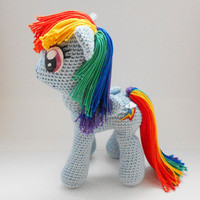 My Little Pony amigurumi pattern