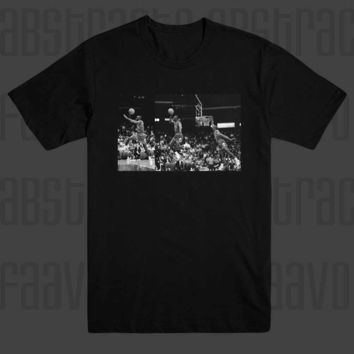 Michael Jordan 23 45 Chicago Bulls Champions Classic Dunk Icon Hip Hop T Shirt