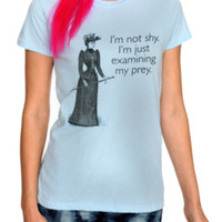 Examining Prey Girls T-Shirt